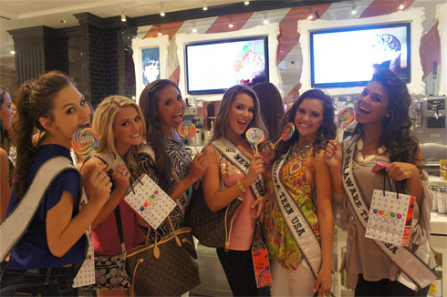 Miss USA 2012 Sugar Factory