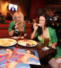The FANTASY ladies enjoy appetizers at Public House Las Vegas